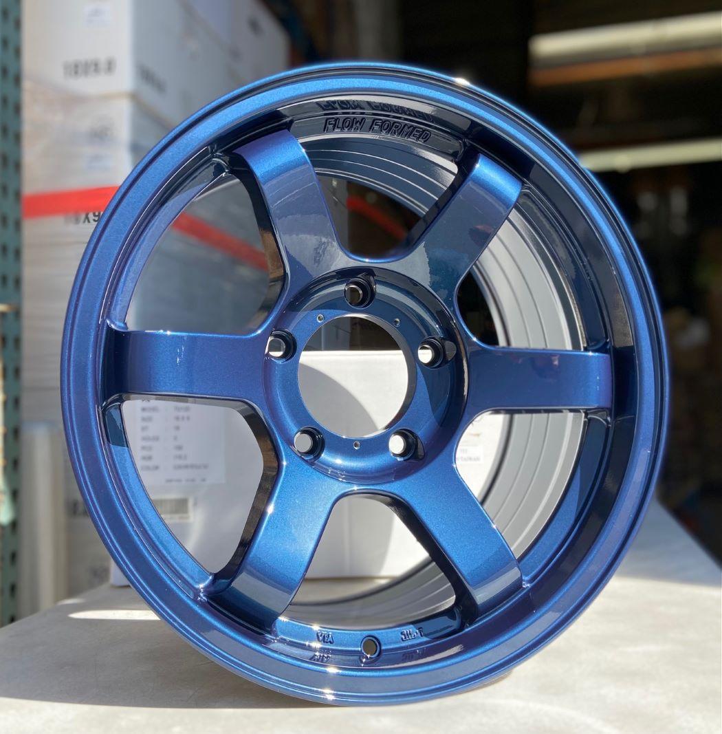 18x9 +18 5x150 BFD Flow Formed Dark Metallic Blue